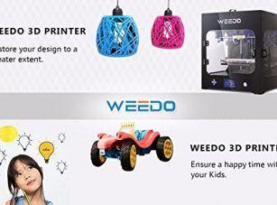 WEEDO M2 desktop 3D printer, Single extruder, 1 Air Particle