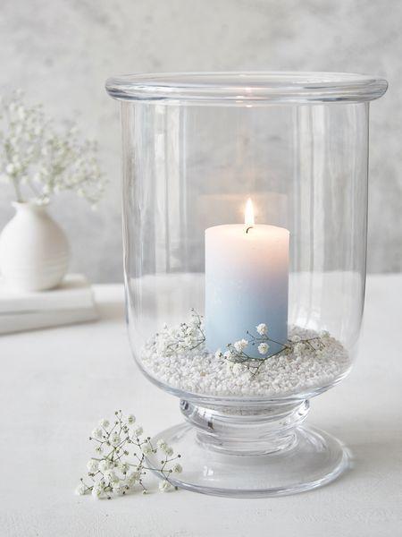 Hurricane Lamps Indoor Candle Lanterns, Decorative Glass Hurricane Lamps