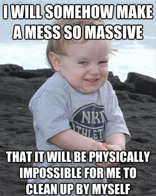 510faf04a061810d7e6feff31eb9d4af funny evil baby meme 20 pics everyone loves baby memes,Childcare Meme