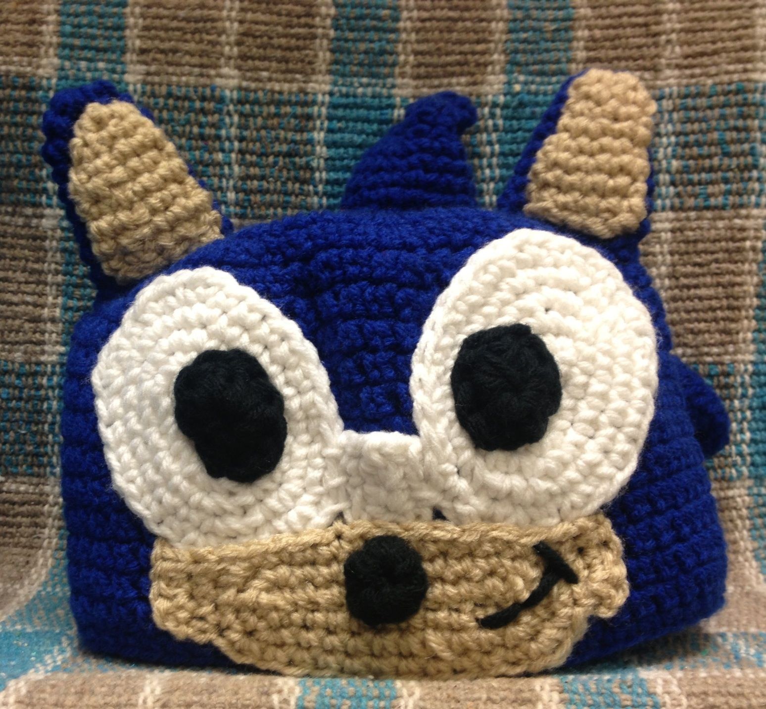 Sonic The Hedgehog Beanie | Will | Pinterest | Hedgehogs and Crochet