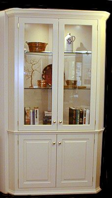 Built In Display Corner Cabinet