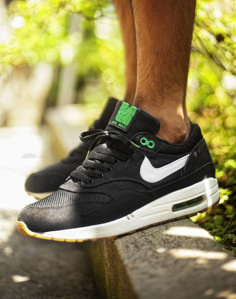online store f5c19 c49d4 Nike Air Max 1 x Patta - Black Lucky Green