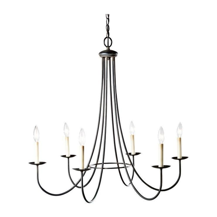 Six Light Iron Chandelier I Ethan Allen New Home In 2019