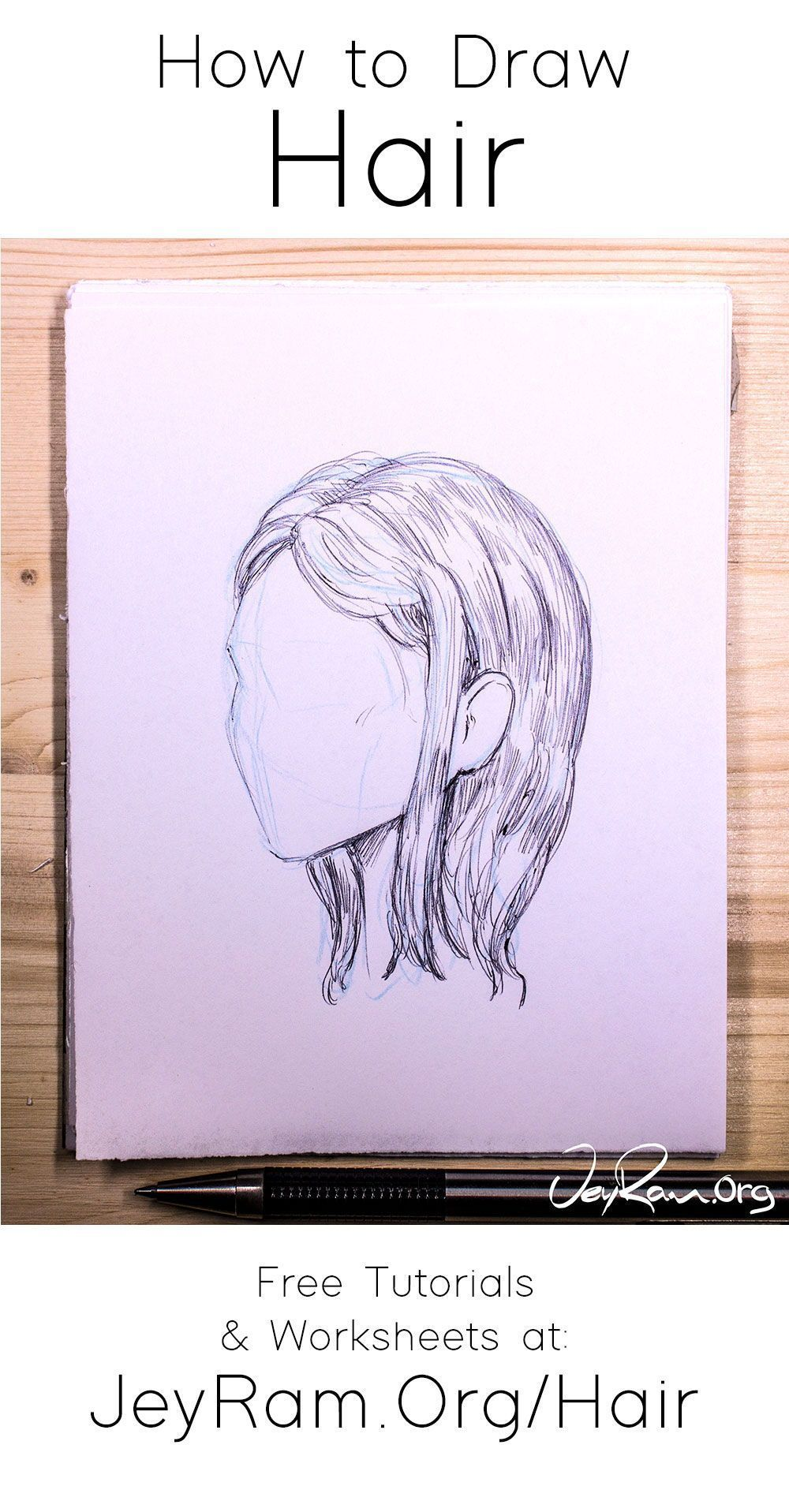 Photo of Learn how to draw hair with these tutorials that are designed to help you learn …
