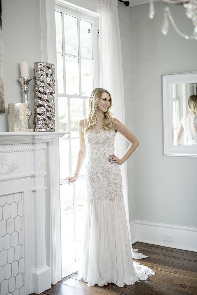 Kelly Faetanini Luz Fit To Flair Illusion Wedding Dress For Rent Or Sale Save Money On Des Rental Wedding Dresses Illusion Wedding Dress Wedding Dresses