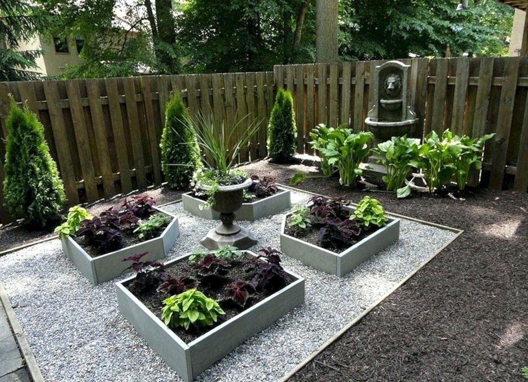 12 Lovely Diy Garden Planter Ideas For Beautiful Front Yard Design Backyard Garden Backyard Garden Beds Backyard Landscaping Designs