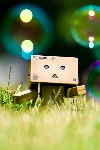 Bubbles Box People Danbo Retina Wallpaper Android Wallpaper