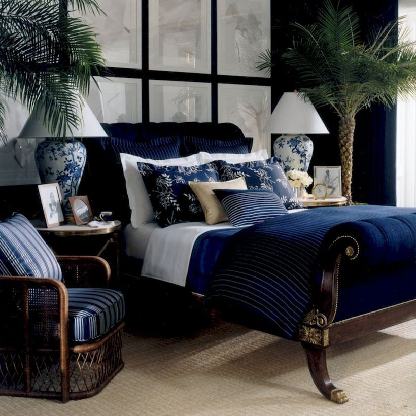 46 classy navy and white bedroom design ideas white