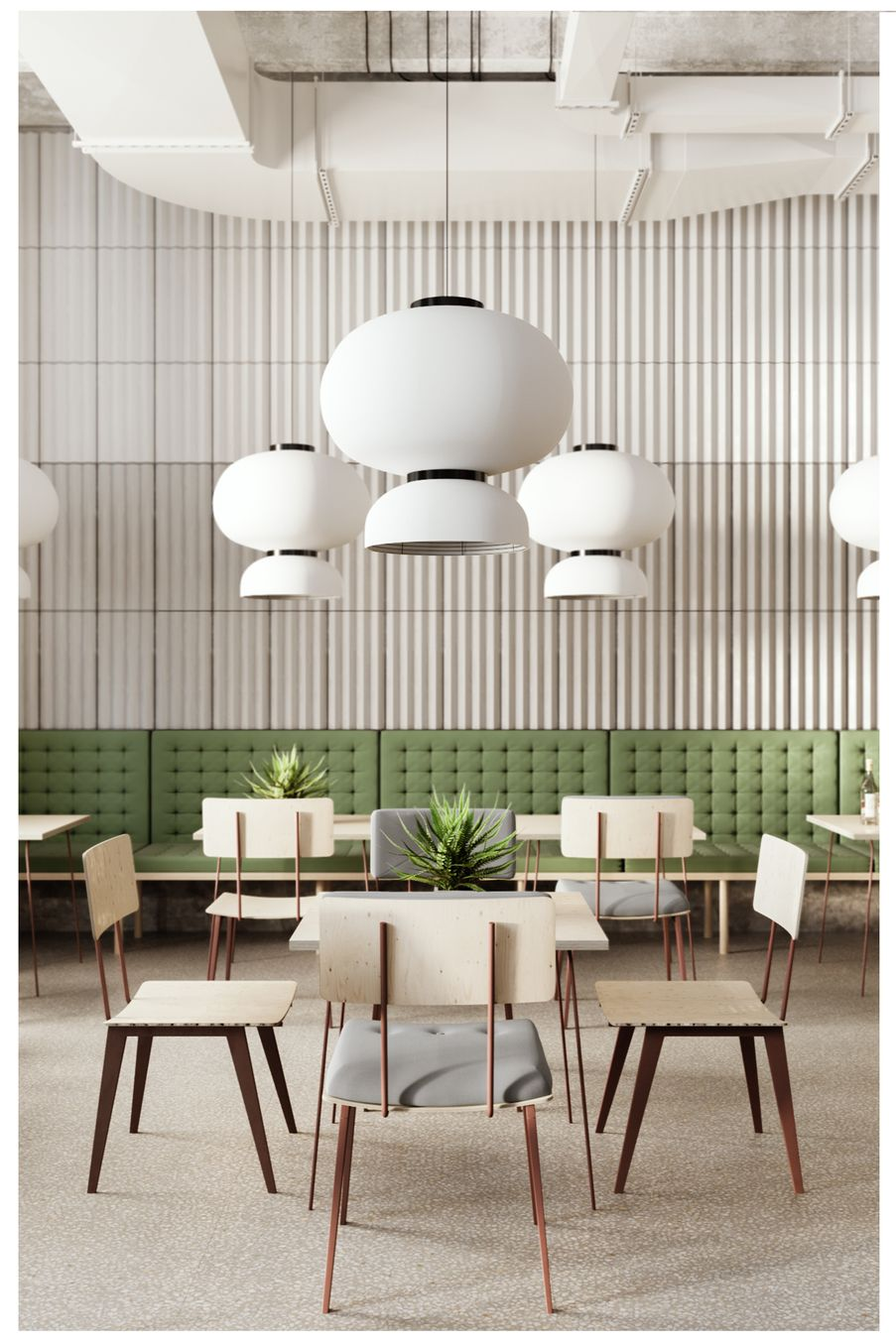 What S Hot On Pinterest 5 Scandinavian Dining Rooms Cafe