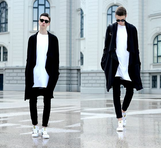 Get this look: http://lb.nu/look/8212527  More looks by Andrejs Šemeļevs: http://lb.nu/andrejssemelevs  Items in this look:  Ray Ban Sunglasses, H&M Cardigans, Urban Outfitters T Shirt