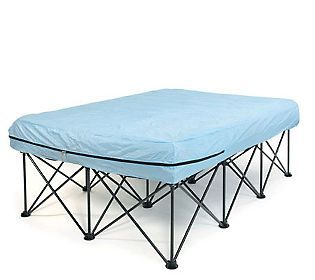 Air Mattress Frame A Must For Those Of Us Who Want Be Up Off The Ground Only Way To Camp