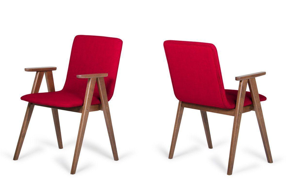 Vig Furniture Vgmami 562a Red Modrest Maddox Modern Red Walnut