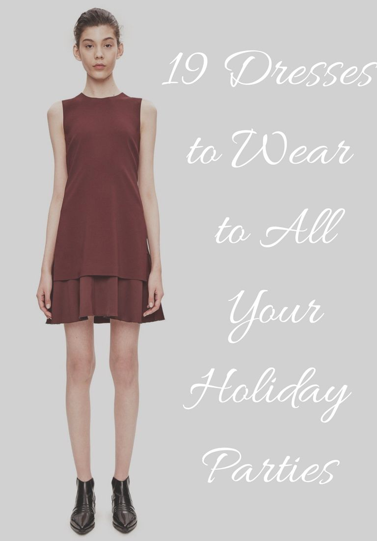 Dressing up a black dress for the holidays