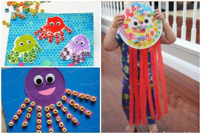 16 Fun Octopus Crafts Activities Kids Activities Pinterest