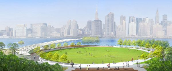 Hunters Point South Waterfront Park On Behance Landscape Plans Landscape Landscape Projects