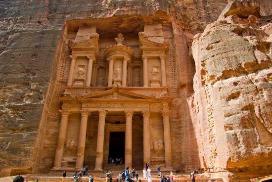 Private excursion: 2 days day trip to Petra, Wadi Rum & The Great Temple from Dahab by ferry boat #wadirum