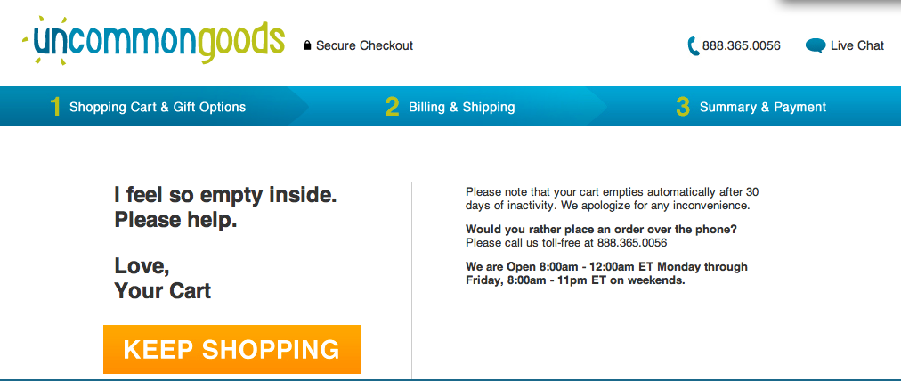 Shopping Cart Reminder Emails Can Be Super Effective In Getting The