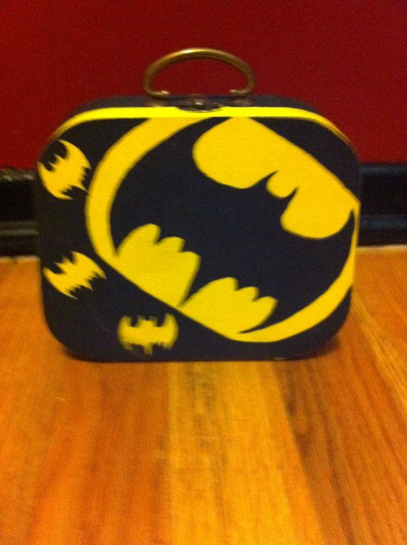 Batman Jewelry Box by BlackLashes25 on Etsy 800 Crafts