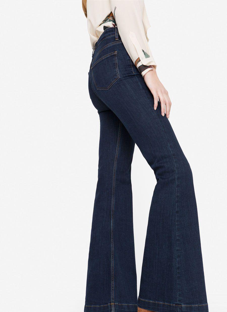 269492b0d60 Jeans detalle lateral   Uterqüe   Armarios, Fondo de armario y Atuendo