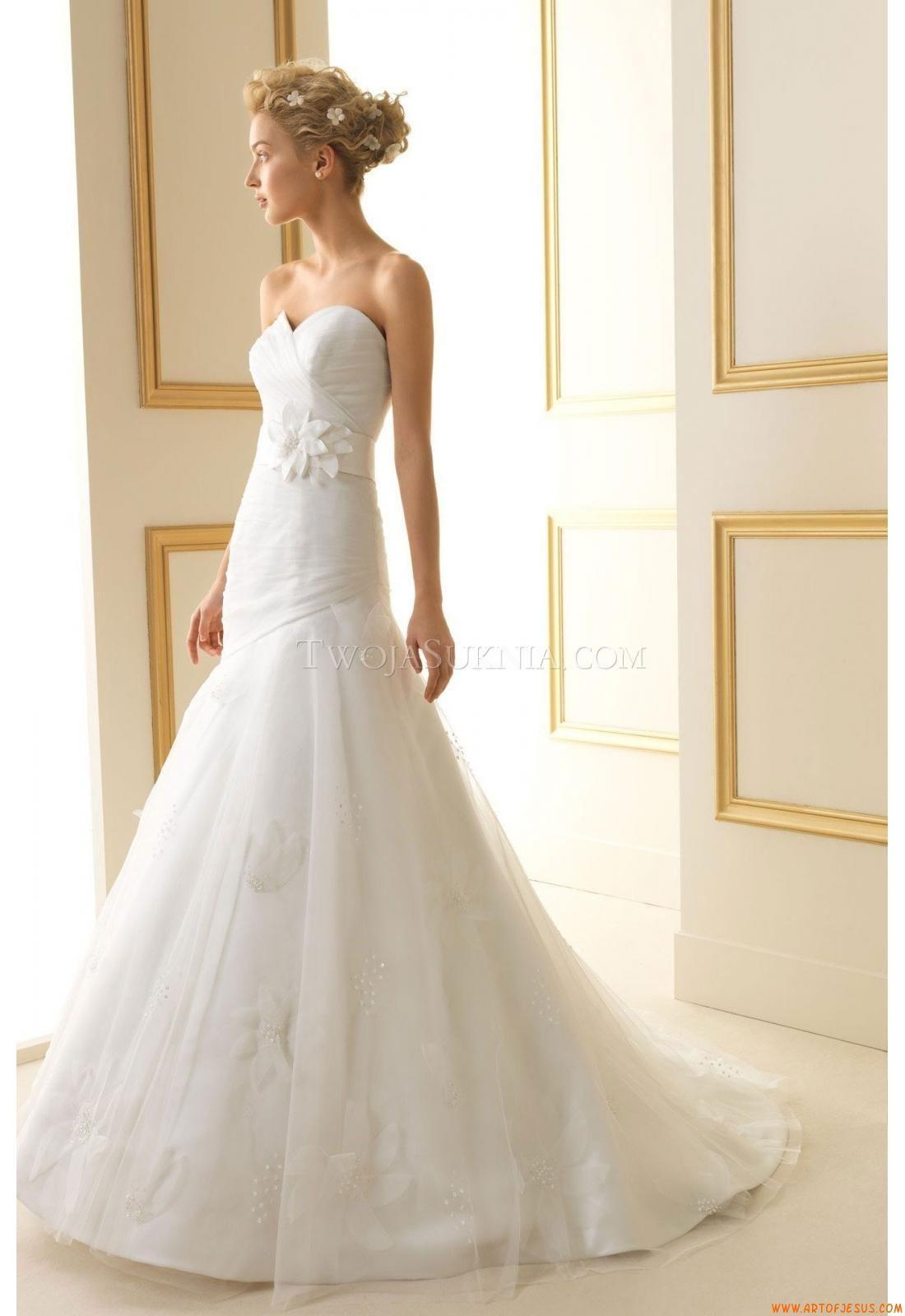 Wedding Dress Luna Novias 179 Trevol 2013