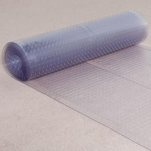 Es Robbins Clear 27 In X 10 Ft Vinyl Ribbed Rug Runner 184013 Vinyl Runner Carpet Runner Vinyl Carpet Protector