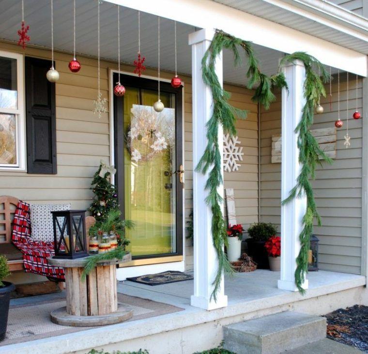 idées de décoration de porte du0027entrée de Noël