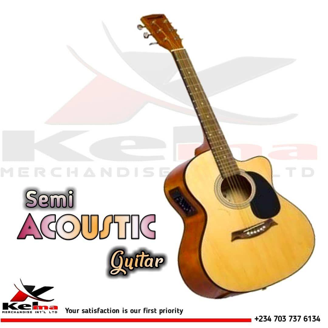 Semi Acoustic Guitar 32k Naira Guitar Kelmamerchandise Dealers In World Class Manufacturers Musicalins Semi Acoustic Guitar Yamaha Guitar Fender Guitars