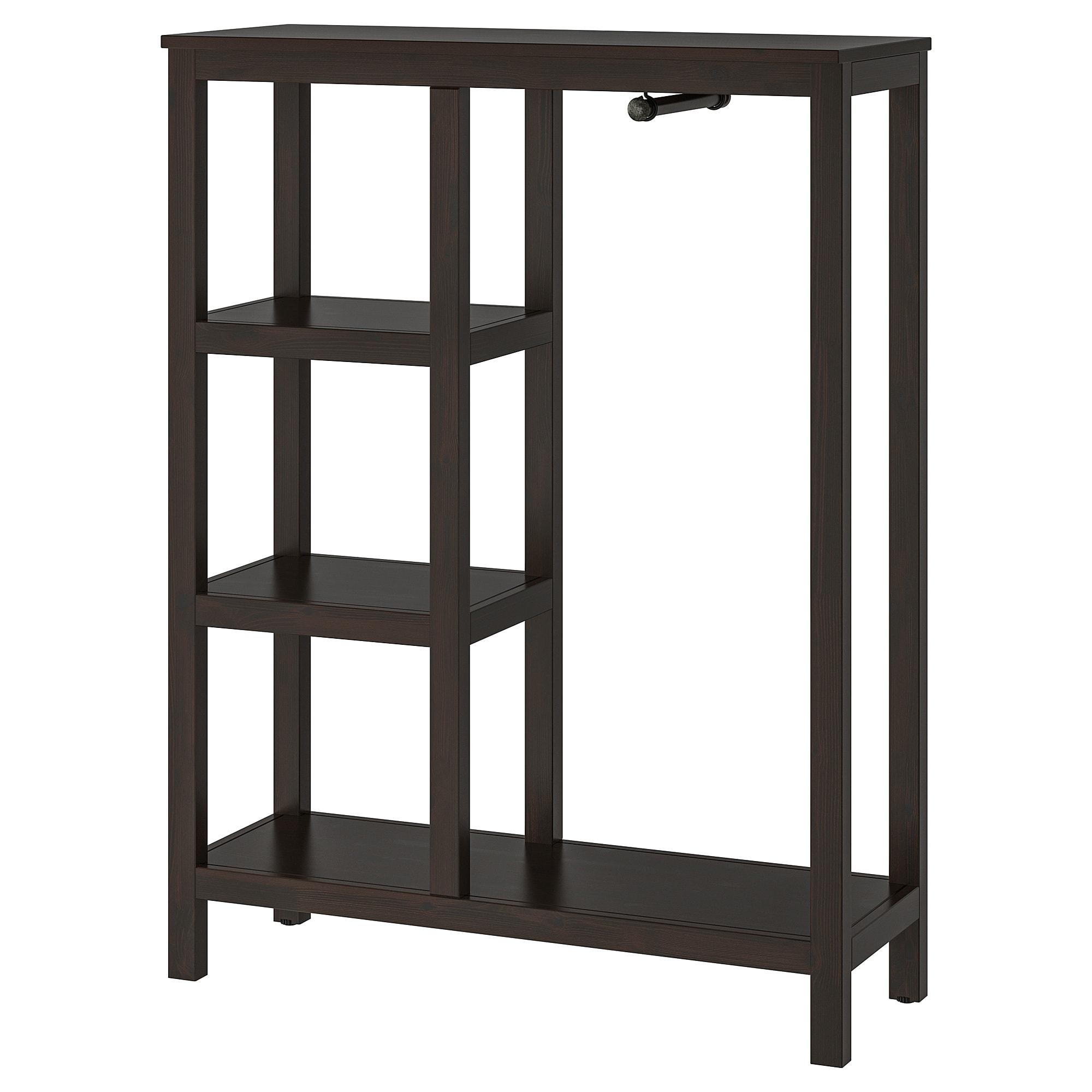 Hemnes Open Kledingkast Wit Gelazuurd 99x37x130 Cm Ikea Open Wardrobe Hemnes Ikea