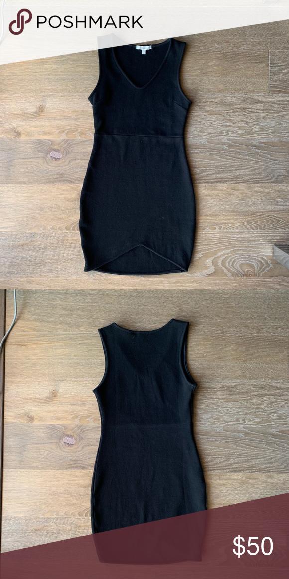 7e60cfecdbf5 Black bodycon dress from LF Brand: LF Australian size 6 / us size xs Black dress  LF Dresses Mini