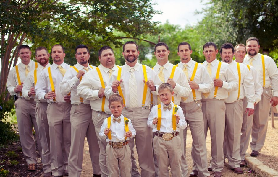 Country Chic Mens Wedding Attire | Wedding Tips and Inspiration