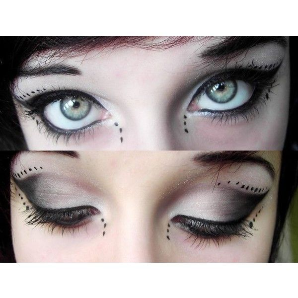 Eyes And Make Up Ii By Dh6art Liked On Polyvore Featuring Beauty