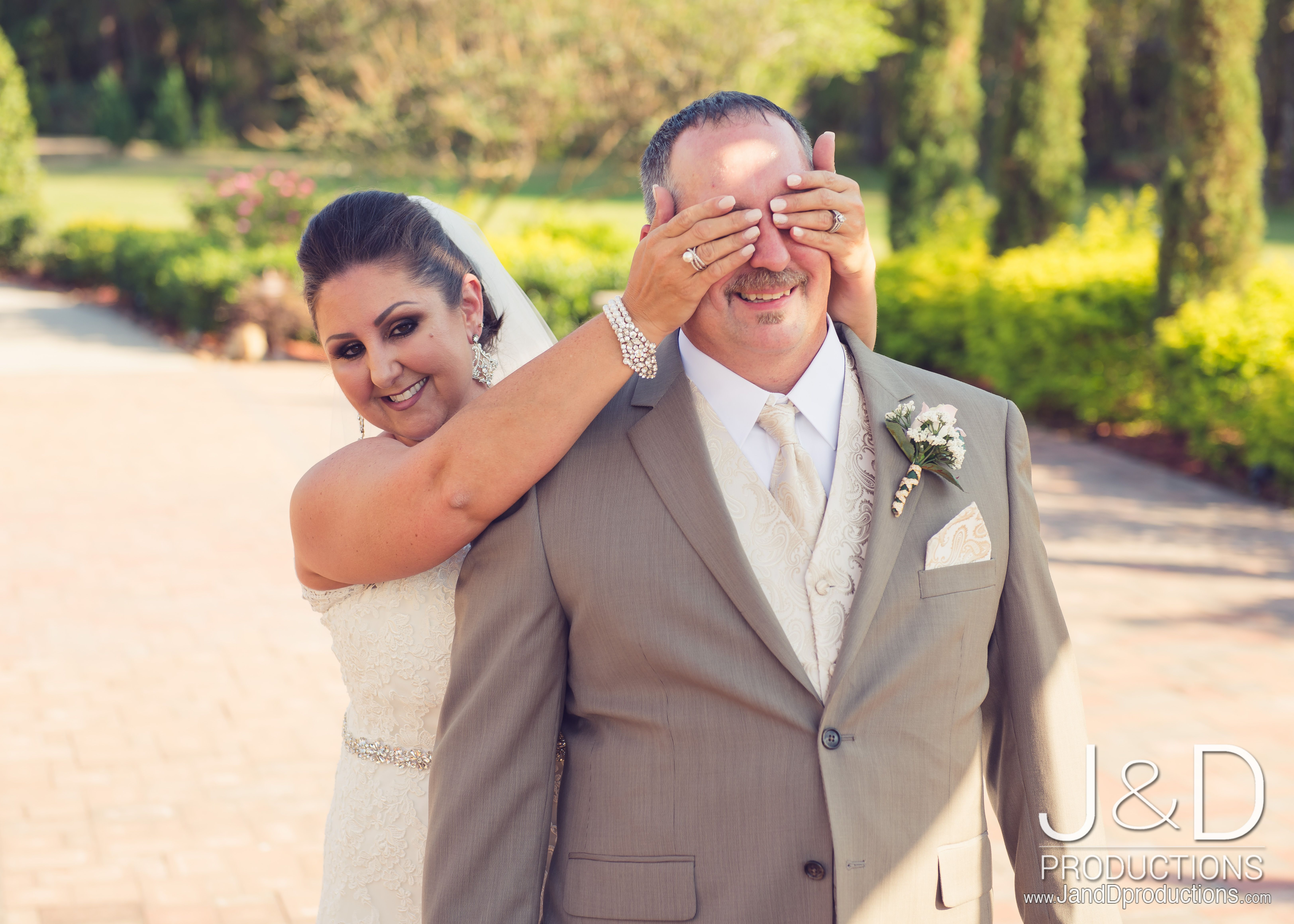 First Look Outdoor Wedding Weddings In Houston Ceremony Clear