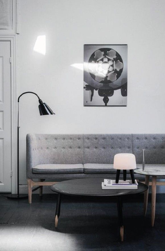 Mayor Sofa Tradition Bellevue Floor Lamp Tradition Both Designed By Arne Jacobsen Barefootstyling Com Interior Interior Furniture Furniture