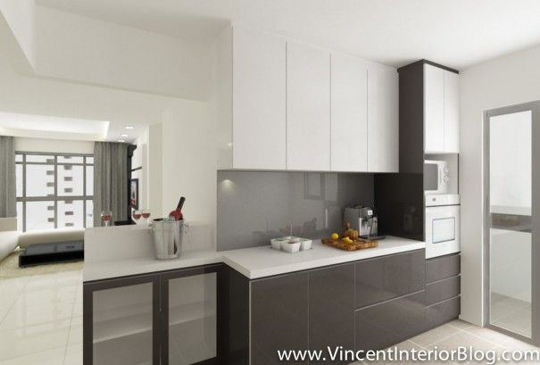 Genial Kitchen Designs · 4 Room HDB Yishun Vincent Interior Blog BEhome 4