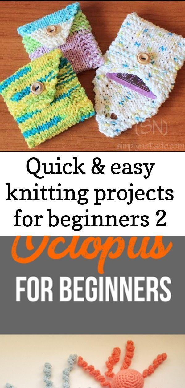 Photo of Quick & Easy Knitting Projects for Beginners Stuffed animal crochet projects for…