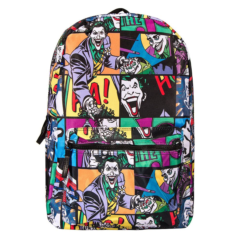 a0f8949f3830 Batman Joker Backpack (Multi Coloured)