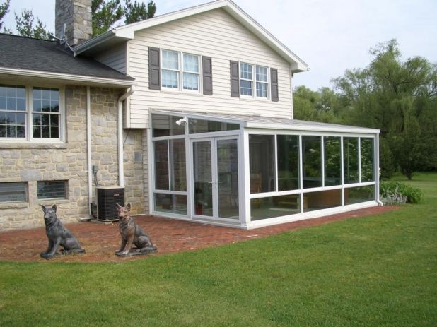 Sunroom ideas on a budget google search sunroom for Sun porch ideas