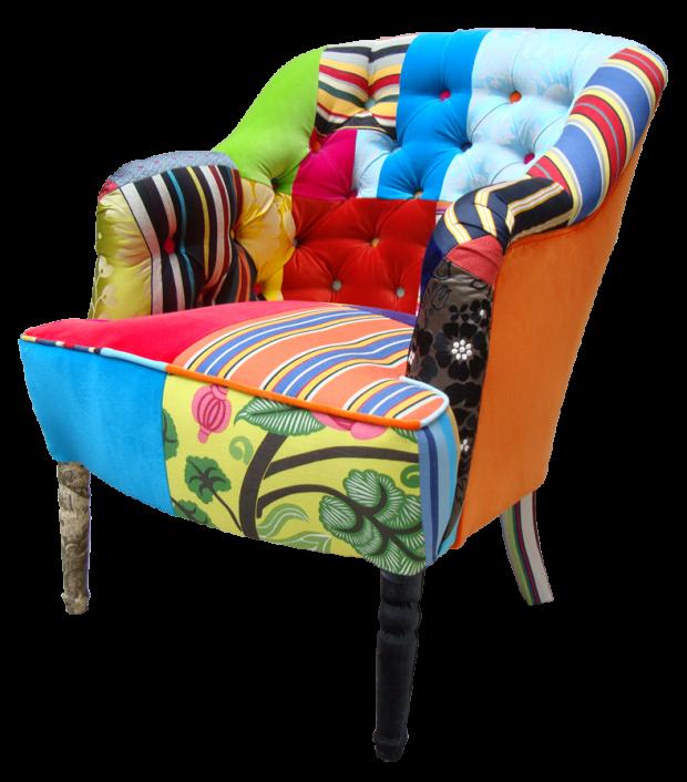 Squint Little Button Chair chair furniture