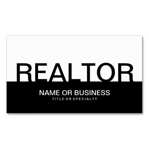 Bold realtor color customizable business card business cards bold realtor color customizable business cards colourmoves