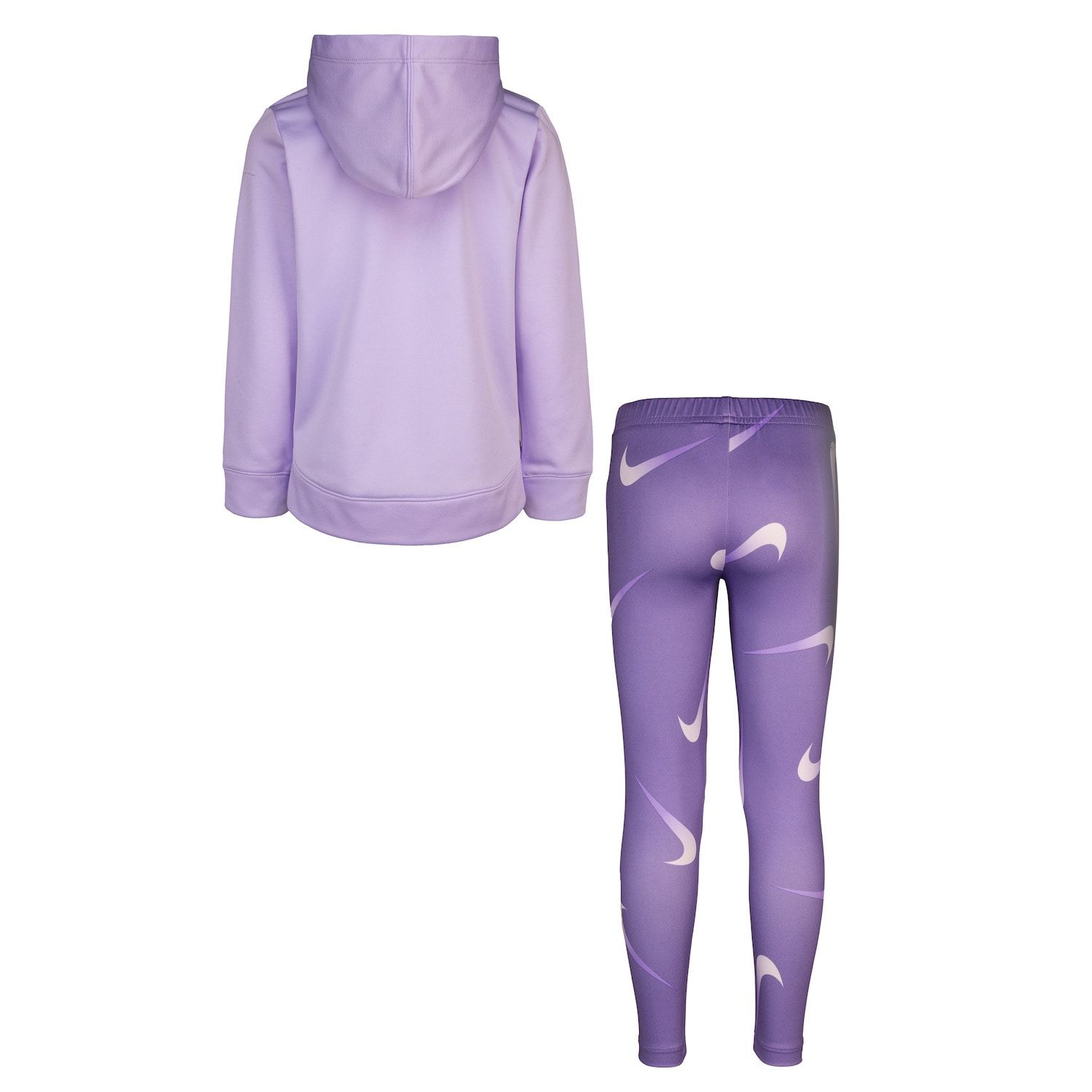 Full zip; Therma-Fit; Pink//Purple - Size 4 6X Girls Nike Hoodie Jacket New