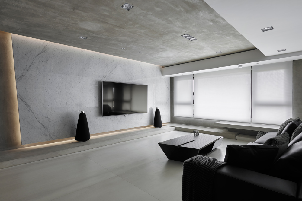 R House With Images Simple Living Room Interior Spaces House