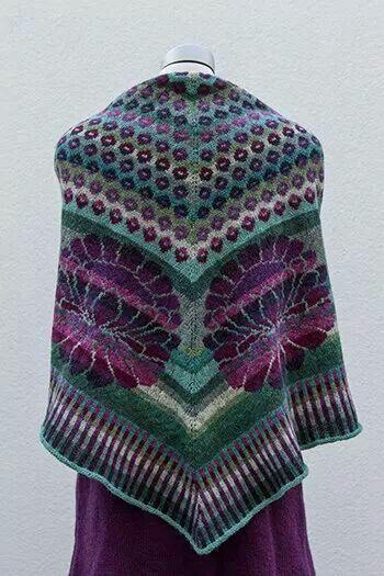 Pin By Tanya Fedina On Pinterest Fair Isles Shawl And
