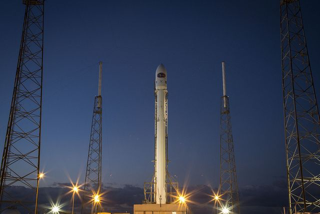 file photo of a falcon 9 rocket on the launch pad at cape canaveral credit deep space climate observatoryfalconsastronomyspacex