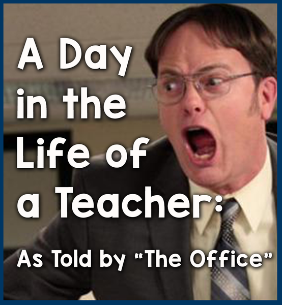 A Day In The Life Of A Teacher As Told By The Office Teacher Memes Funny Bored Teachers Teacher Jokes