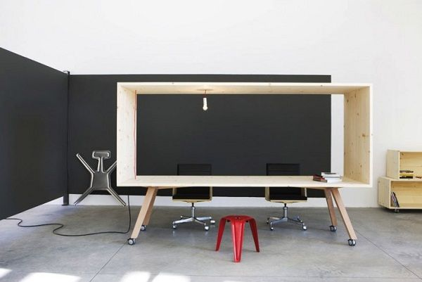 Harry Thaler Flexible Movable Modern Furniture Minimalist Design Pine Wood  MDF