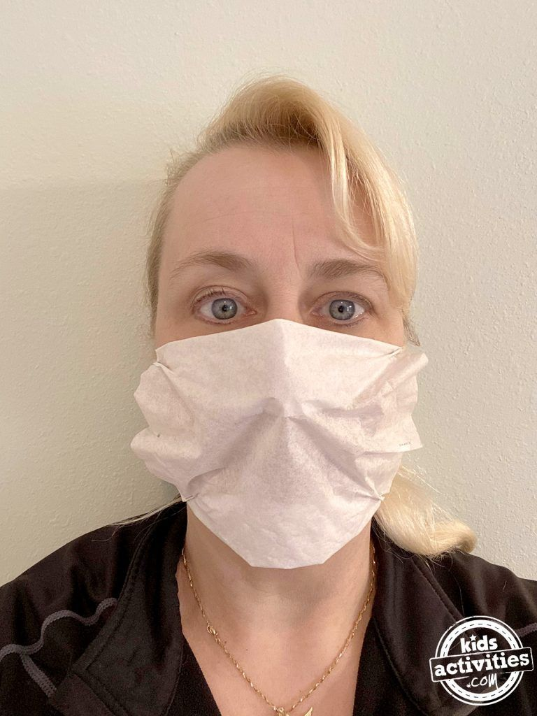 How to make face masks from coffee filters at home