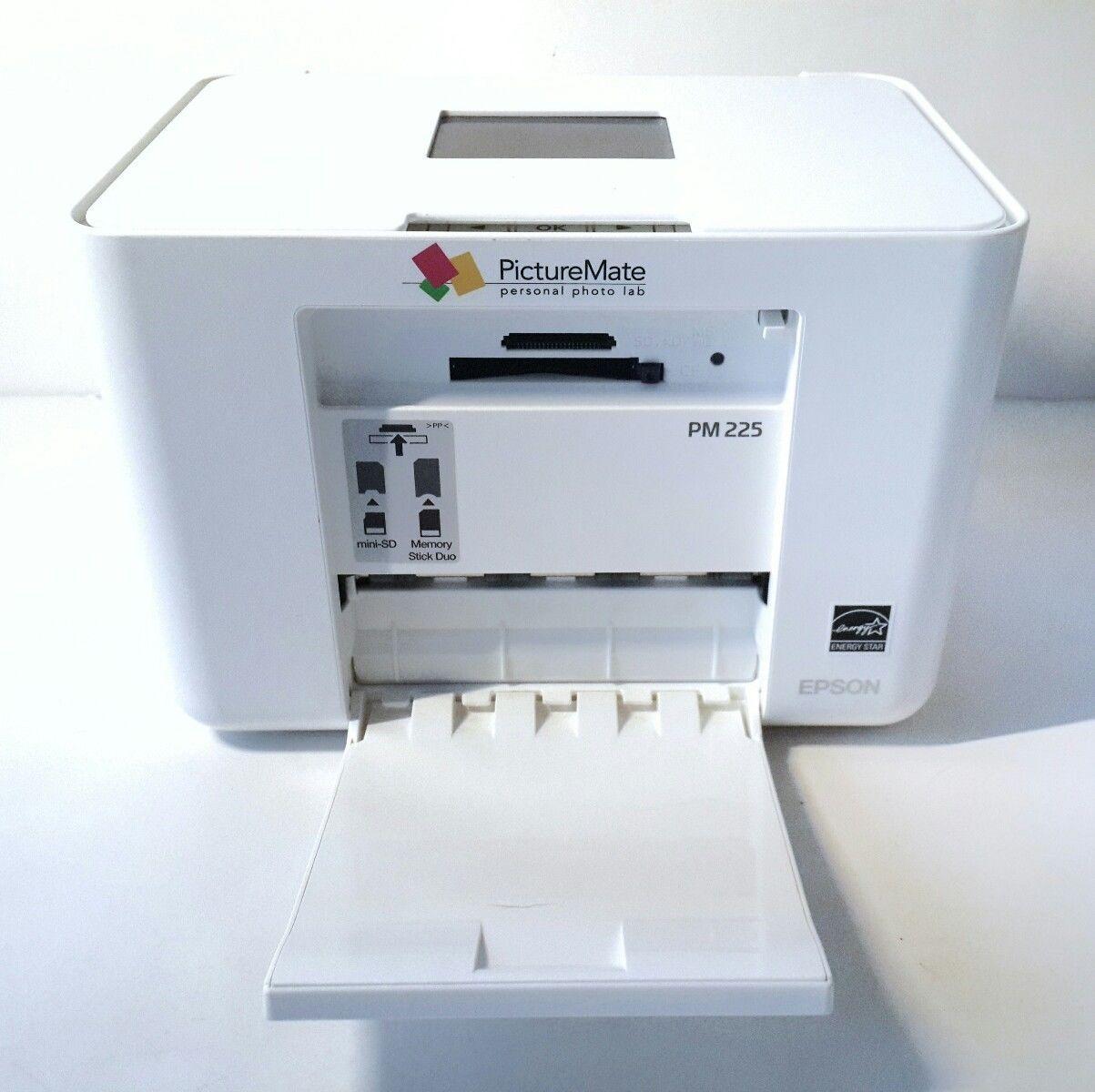 Epson PictureMate Charm - PM 225 Printer Drivers Download