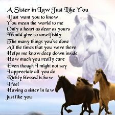 Friendship Sister In Law Quotes By At Quotesgram Cards Poems