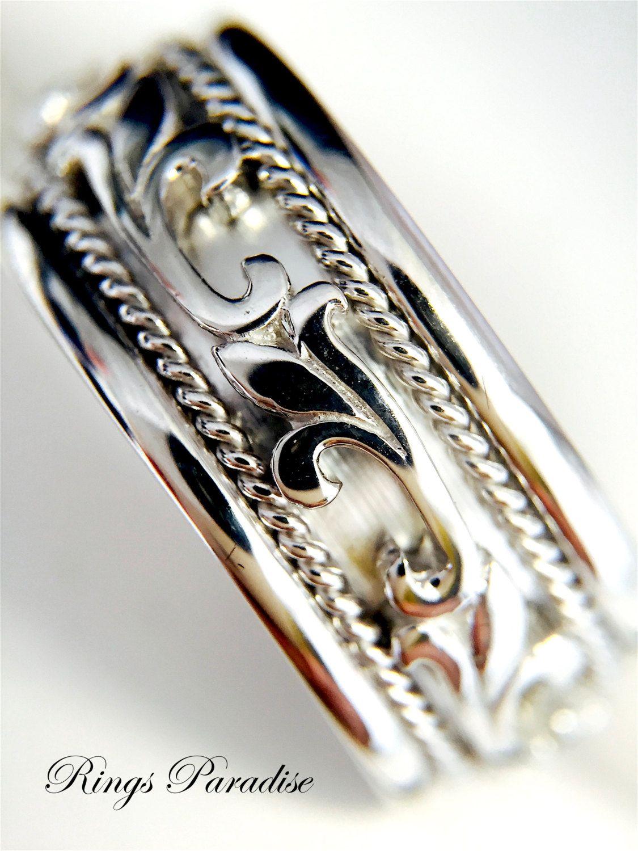 14k Gold Celtic Wedding Bands Celtic Knot Ring Scottish Etsy Celtic Wedding Bands Celtic Wedding Rings Celtic Knot Ring