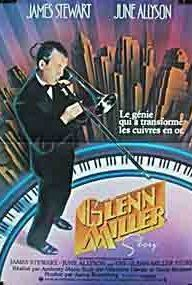 Glenn Miller Story: The biography of the Bandleader Glenn Miller from his beginnings to his death over the English Channel in December 1944, with a lot of his arangements, partly in an authentic cast.